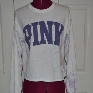 PINK Victoria's Secret XS Tie Dyed T-shirt
